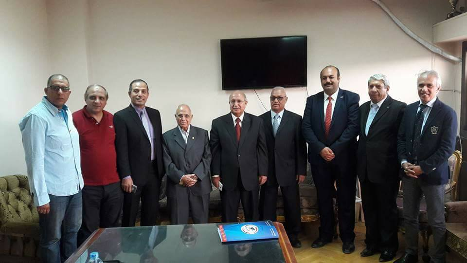 انتخاب مجلس الإدارة جديد للاتحاد المصرى للدراجات 2017 / 2020
